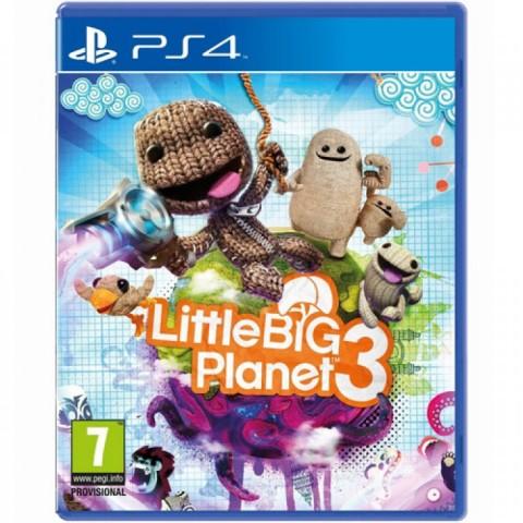 Little Big Planet 3 - PS4 کارکرده
