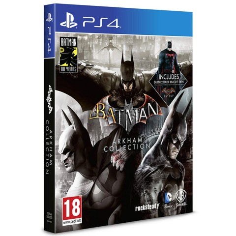 Batman Arkham Collection Steel Book - PS4 کارکرده