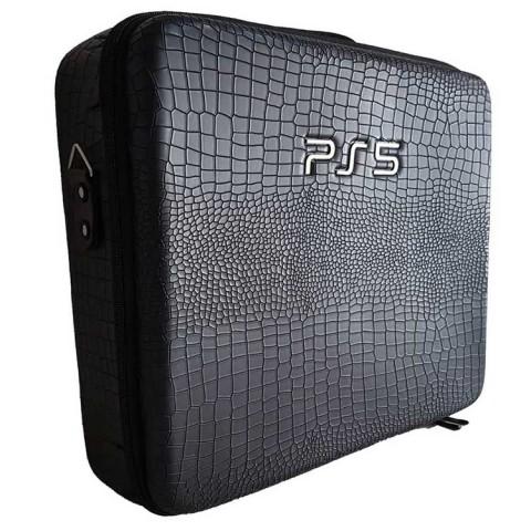 PlayStation 5 Bag - black leather