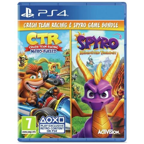 Crash Team Racing Nitro-Fueled-Spyro Reignited Trilogy - PS4