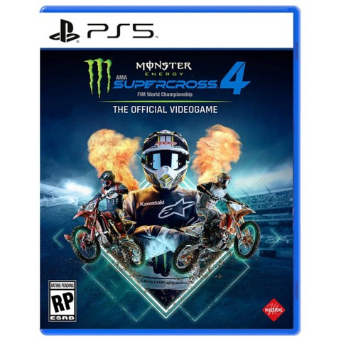 Monster Energy Supercross 4: The Official Video Game - PS5