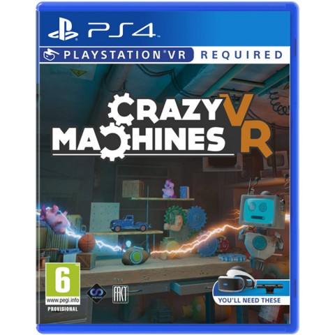 Crazy Machines VR - PS4