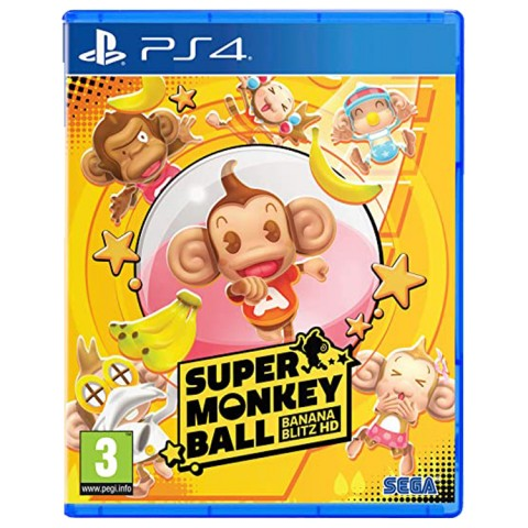 Super Monkey Ball: Banana Blitz HD - PS4