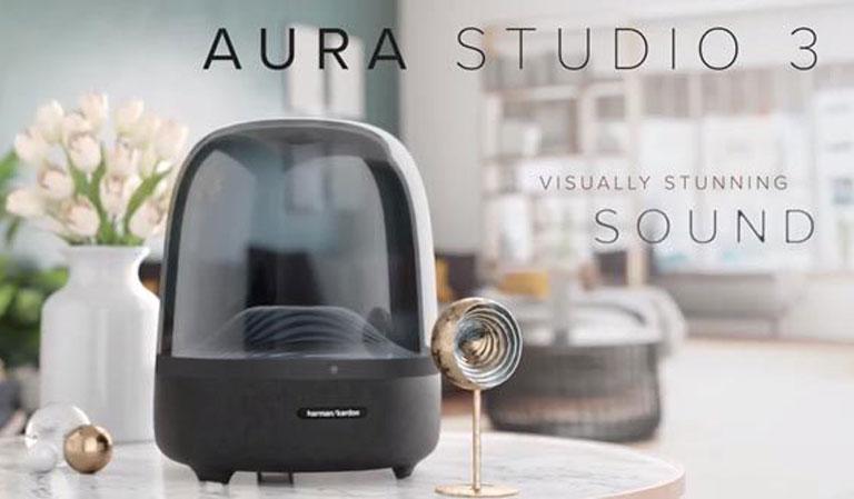 بررسی اسپیکر بلوتوث هارمن کاردن Harman Kardon Aura Studio 3