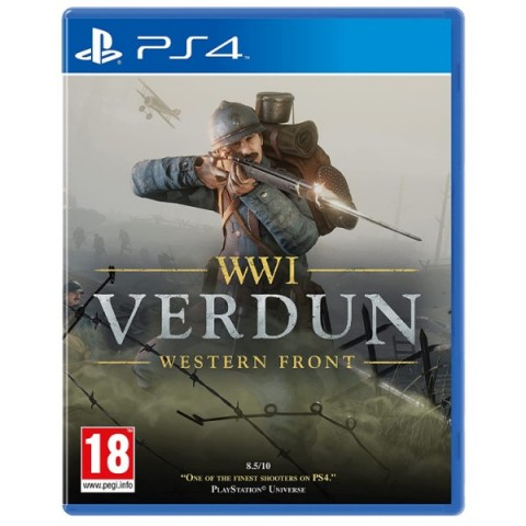 WWI Verdun Western Front - PS4 کارکرده