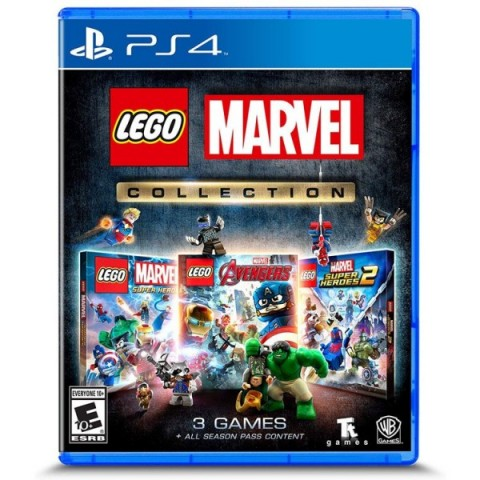 Lego Marvel Collection - PS4 کارکرده
