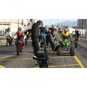 Grand Theft Auto V and Grand Theft Auto online - PS5