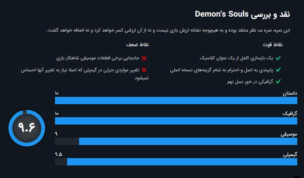 بررسی بازی demons souls