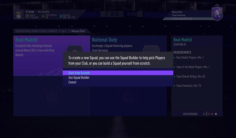نحوه بازی و کامل کردن SBC در FIFA 21