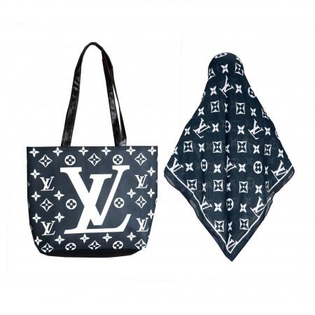 ست کیف و روسری LV کد2