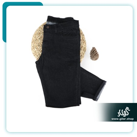 شلوار جین مردانه ذغالی ZA کد1012