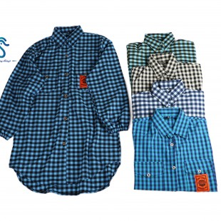 چهارخونه  پیراهنی
