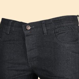 شلوار جین مردانه ذغالی ZA