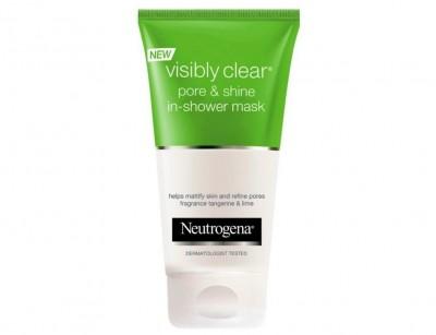 ماسک دوش نوتروژینا منافذ و زیبایی چهره  visibly clear pore & shine حجم 150 میل