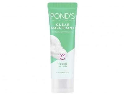 اسکراب پاکسازی صورت پوندز Pond's Clear Solutions Facial Scrub 100 g