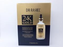 ماسک ورقه ای طلا ۲۴K برند dr.rashel دکتر راشل ۲۴k pure Gold hydra mask