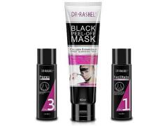 ست بلک ماسک ورقه ای دکتر راشل 3Steps to  Beauty