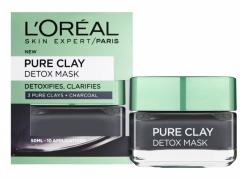 ماسک خاک رس سم زدا و روشن کننده پوست اورآل پاریس مدل Pure Clay