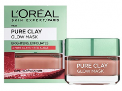 ماسک لطافت بخش صورت اورآل مدل Pure Clay حجم 50 میلی لیتر