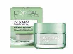 ماسک پاک کننده صورت اورآل مدل Pure Clay حجم 50 میلی لیتر