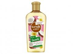 روغن موی نرم کننده نارگیل سانسیلک 250 میل sunsilk oil blooms give me smooth