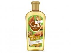 روغن موی ضد ریزش بادام و کرچک سانسیلک 250 میل sunsilk oil blooms good by e hair fall