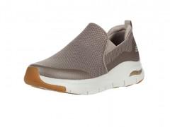 کفش راحتی مردانه اسکچرز قهوه ای روشن مدل Skechers-232043-TPE-Arch Fit