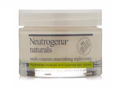 کرم شب مولتی ویتامین مغذی نوتروژینا Neutrogena Naturals