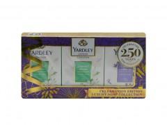بسته صابون لاوندر انگلیسی و گل یاس یاردلی Yardley English Lavender وزن 300 گرم