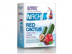 کاندوم کدکس مدل Red Cactus بسته 3 عددی