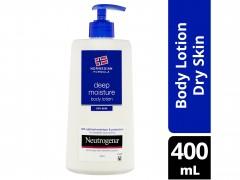 لوسین بدن نوتروژینا مدل مرطوب کننده عمیق deep moisture حجم 400 میل