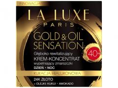 کرم ضد چروک طلا لالوکس La Luxe Paris Gold & Oil Sensation مناسب سن +40