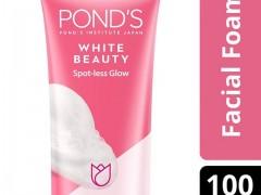فوم شوینده صورت روشن کننده پوندز وایت بیوتی PONDS White Beauty Spot less glow Facial Foam 100g
