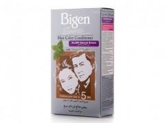 رنگ موی بیگن (bigen) شماره 884 رنگ قهوه ای - Bigen Speedy Hair Color, Natural brown 884