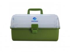 جعبه لوازم ماهیگیری مازوزی سه طبقه پلاستیکی