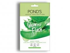 ماسک پارچه ای Ponds سری Juice Collection مدل Aloe Vera Extract وزن 20 گرم