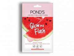ماسک پارچه ای Ponds سری Juice Collection مدل Watermelon Extract وزن 20 گرم