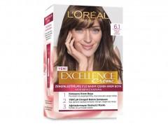 رنگ موی لورآل 6.1 بلوند شنی تیره