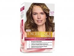 کیت رنگ مو لورال مدل Excellence شماره 6.03 رنگ قهوه ای روشن