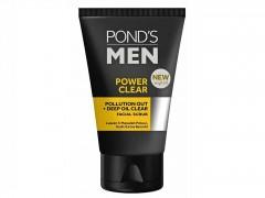 اسکراب صورت مردانه پوندز Pond's مدل Power Clear حجم 100 گرم