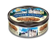 بیسکویت وایت کستل کوکی شکلاتی whaite castle قوطی 400 گرمی