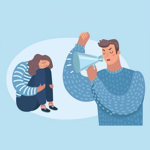 با داد زدن شوهرم چه کنم؟