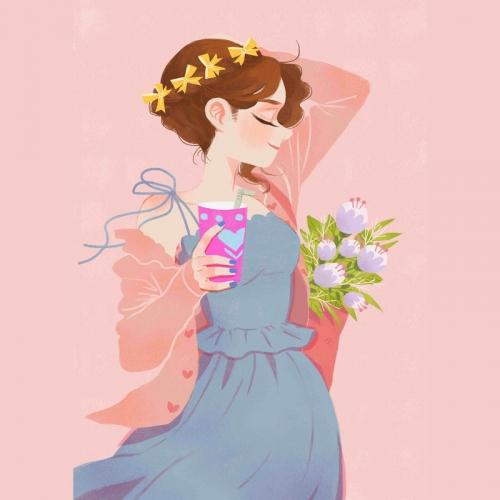 خانم دلبر و خوشگل...