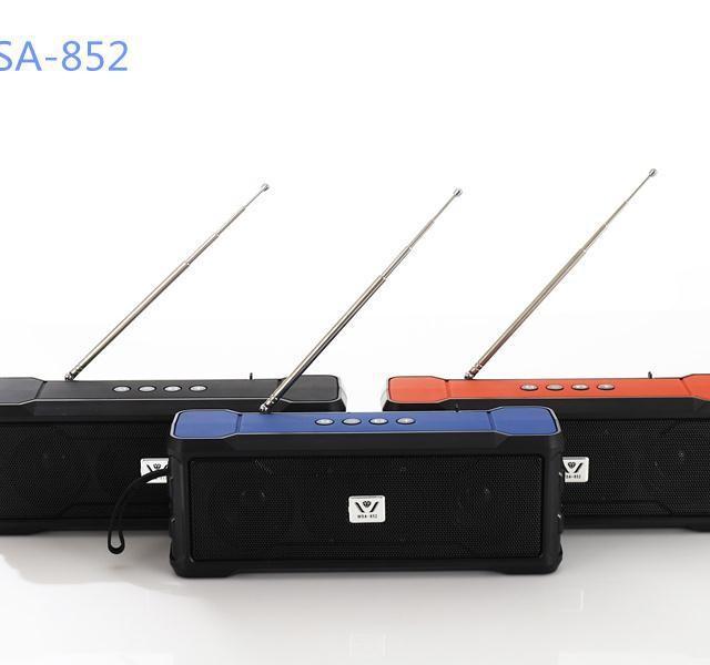 اسپیکر بلوتوثی قابل حمل مدل WSA-852