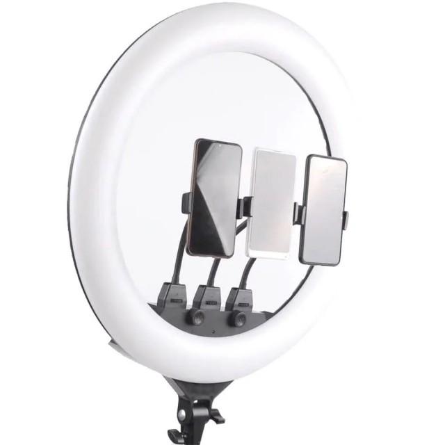 رینگ لایت عکاسی 21 اینچ مدل SLP-G63 به همراه سه پایه