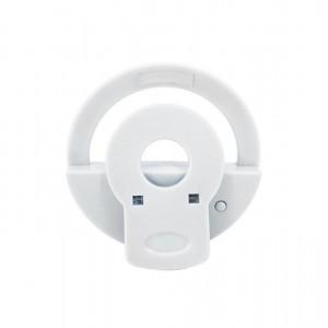 رینگ لایت سلفی دایره ای مناسب برای موبایل و تبلت