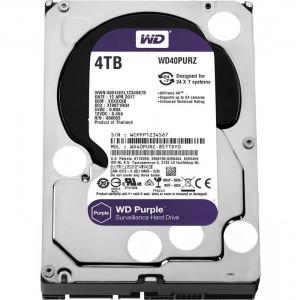 هارددیسک اینترنال وسترن دیجیتال مدل Purple WD40PURZ ظرفیت 4 ترابایت