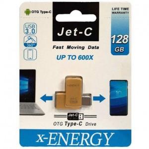فلش مموری ایکس-انرژی مدل JET-C ظرفیت 128 گیگابایت