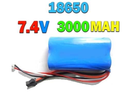 باتری لیتیوم یون 3000MAH (7.4 ولت)