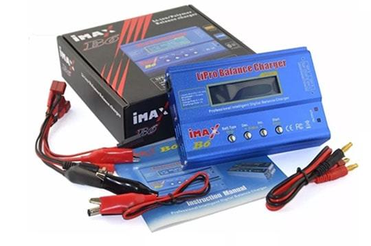 خرید شارژر حرفه ای imax b6 باتریهای لیتیوم پلیمری و یونی